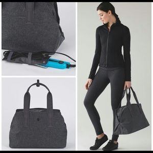 Lululemon Go Getter Bag (Heat) Heathered Dark Grey